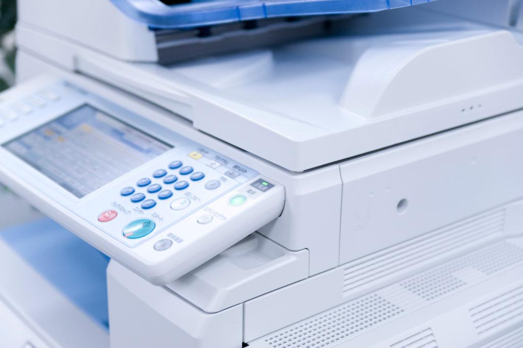 複合機(コピー機)の裏紙印刷