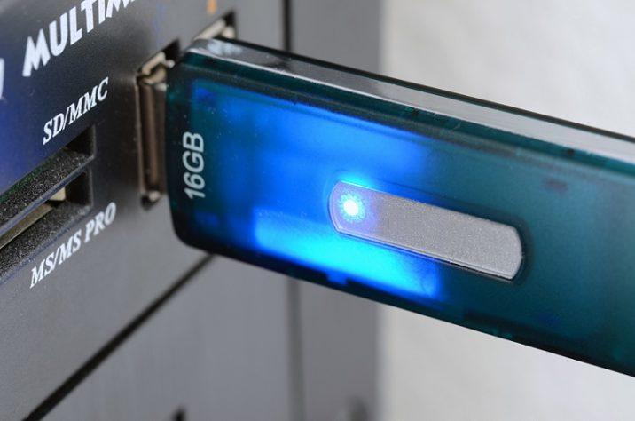 USBメモリのデータを複合機(コピー機)で印刷する方法